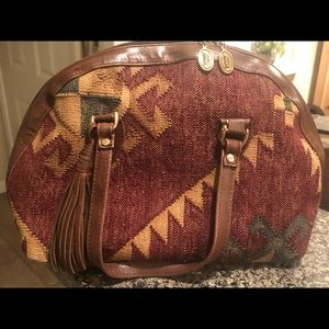 Vintage Marco Avane tapestry purse